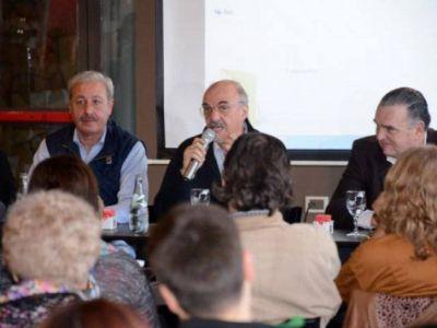 Carlos Tomada visitó Baradero e invitó a votar por Unidad Ciudadana