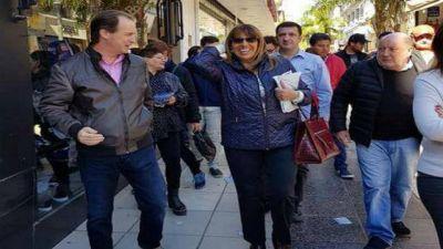 Bordet muestra sus candidatos en la peatonal de Paraná