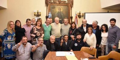 El Movimiento Sindical Rosarino manifestó su apoyo a la candidatura de Agustín Rossi