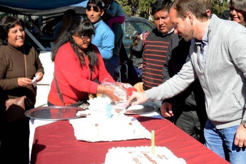 Lucio Paz Posse visitó una comunidad Wichí en General Ballivián y al mercado vaquereño