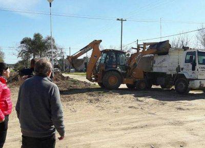El diputado Gustavo Vignali visitó obras en el distrito de Ramallo