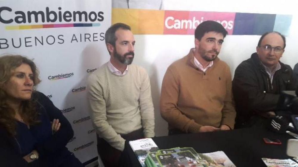 Ezequiel Galli y Dalton Jauregui visitaron Saladillo