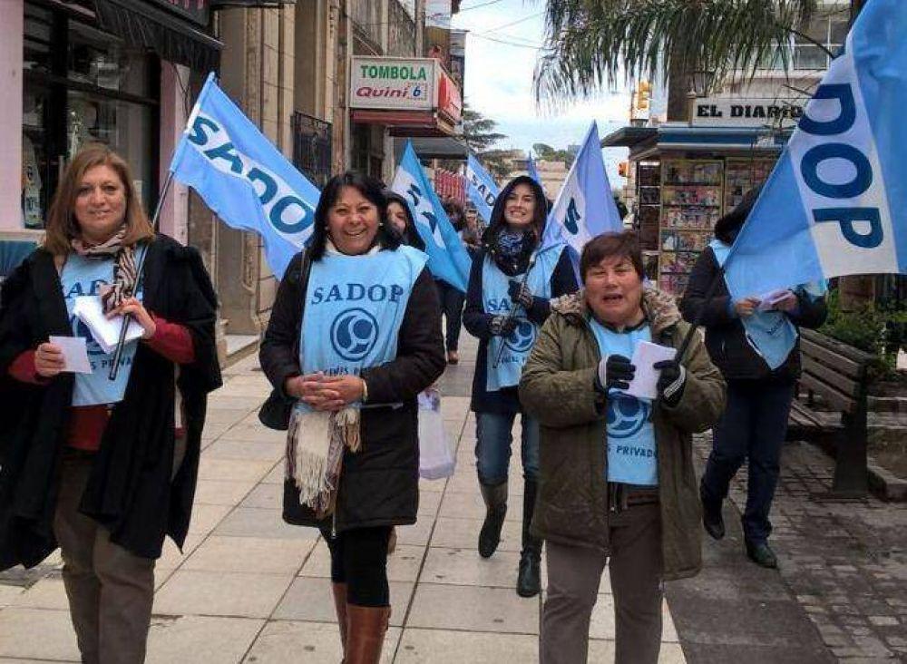 Sadop Entre Ríos reclama la urgente convocatoria a la paritaria nacional del sector