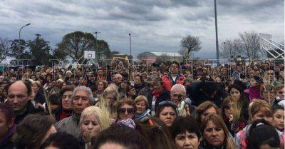 Una multitud participó de la misa central por San Cayetano