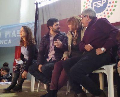 Matías Maciel cerró su campaña en un multitudinario acto en la ciudad