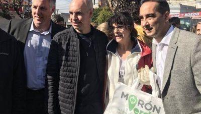 Rodríguez Larreta se sumó a la campaña de Cambiemos en Morón