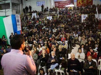Matías Maciel cerró su campaña en un multitudinario acto en Mar del Plata