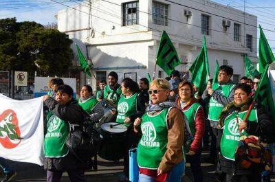 La MUS marchó a Trabajo exigiendo paritaria salarial