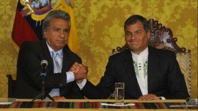 Ecuador: Rafael Correa cada vez más duro con su sucesor, Lenín Moreno