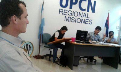 Ricardo Ocampo va por un nuevo mandato al frente de UPCN Misiones
