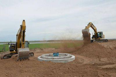 Avanzan las obras en el parque eólico Corti