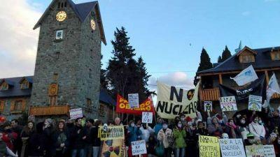 Masivas movilizaciones en toda la provincia le dijeron no a la planta nuclear