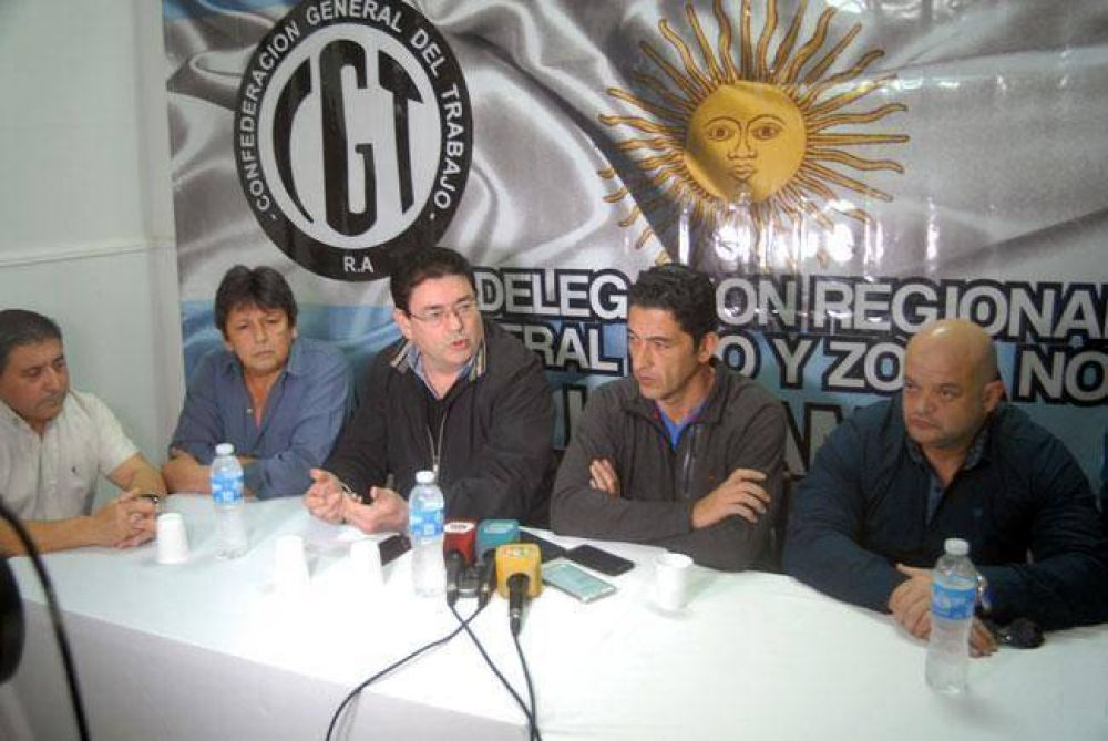 La CGT Zona Norte apoya a los candidatos de la cúpula del PJ