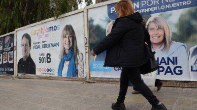 Mañana desde las 8 comienza a regir la veda electoral