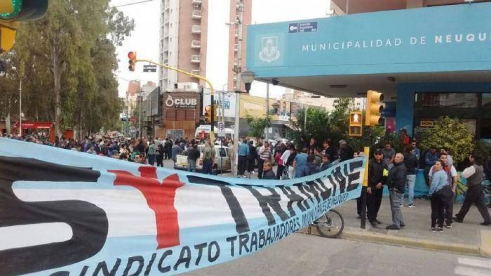 Municipio denunció a Sitramune por cortar la calle