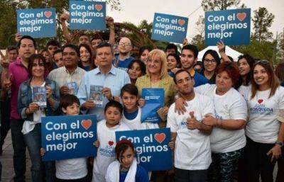 Peppo cerró la campaña del oficialismo en Sáenz Peña