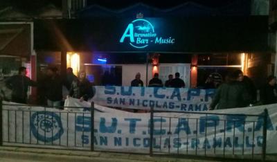 SUTCAPRA recorre la Provincia contra el trabajo en negro en boliches