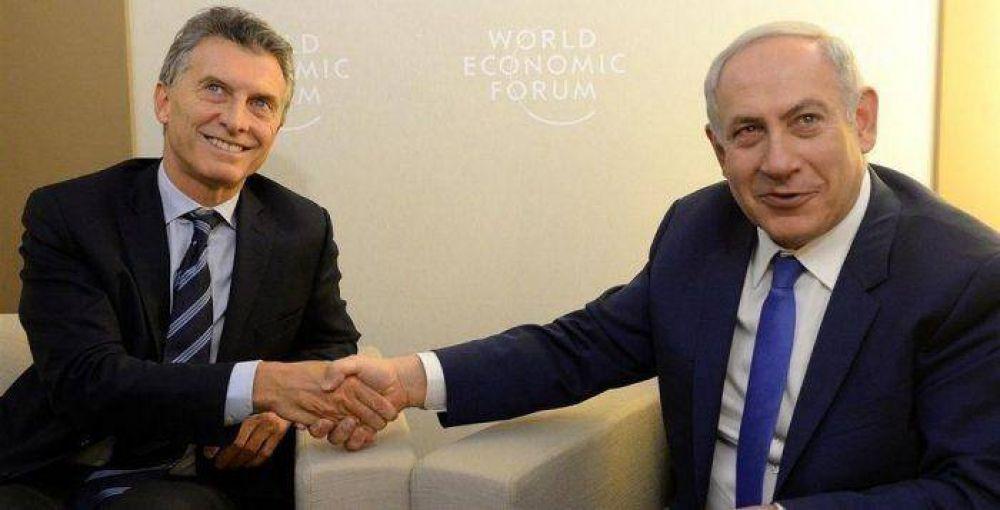 Confirman la visita del primer ministro israelí a Argentina
