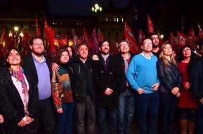 El Frente de Izquierda cerró su campaña junto a los trabajadores despedidos de PepsiCo