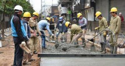 Alfaro espera terminar las obras de la Peatonal hasta el 15 de octubre