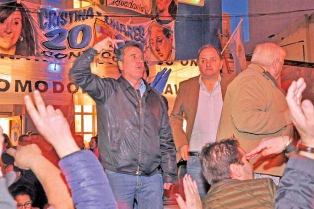 """Fueyo convocó a """"legitimar la protesta social en las urnas contra la política de ajuste"""""""