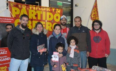 Partido Obrero cerró campaña en la Plaza Independencia