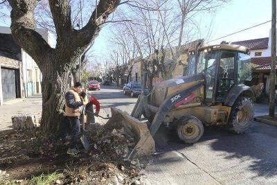 Realizaron un operativo de limpieza integral en Lanús