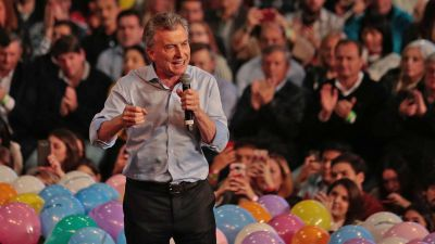 Sólo el tono de la campaña distanció a Macri de Schiaretti