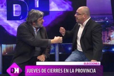Furioso cruce: Dos candidatos casi se van a las manos mientras discutían sobre los trabajadores