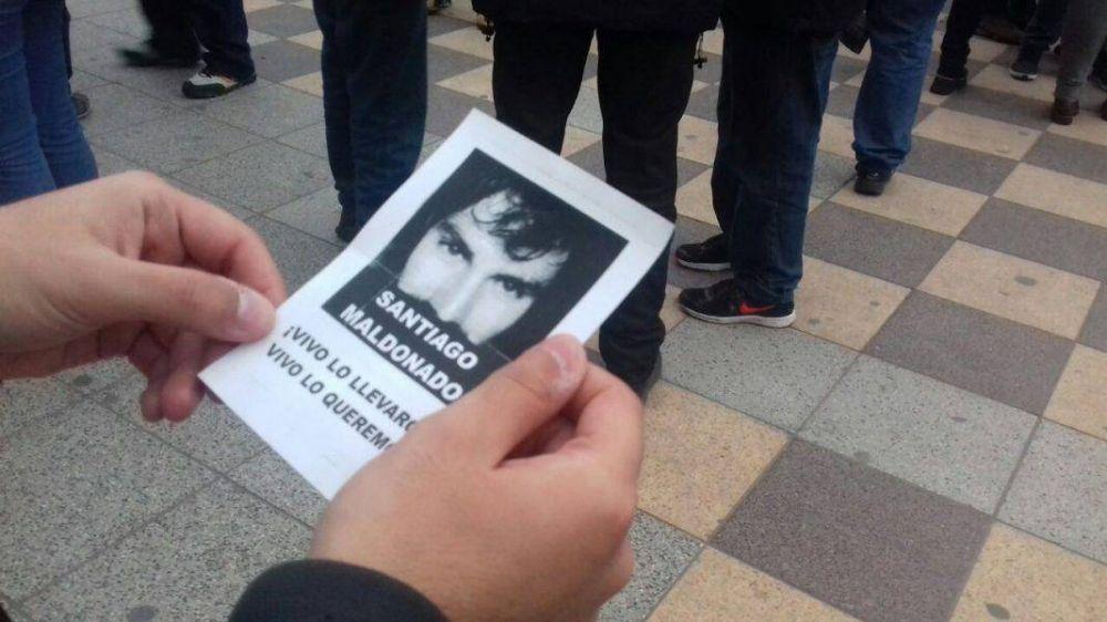 Mar del Plata se movilizó por la aparición de Santiago Maldonado
