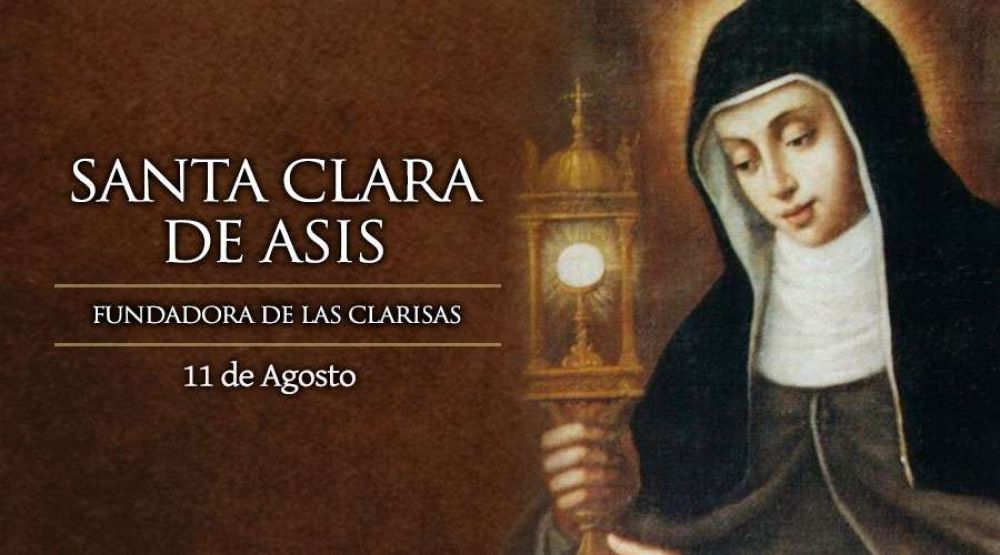 "[VIDEO] Hoy se celebra a Santa Clara de Asís, la ""renovadora"" de la Iglesia"