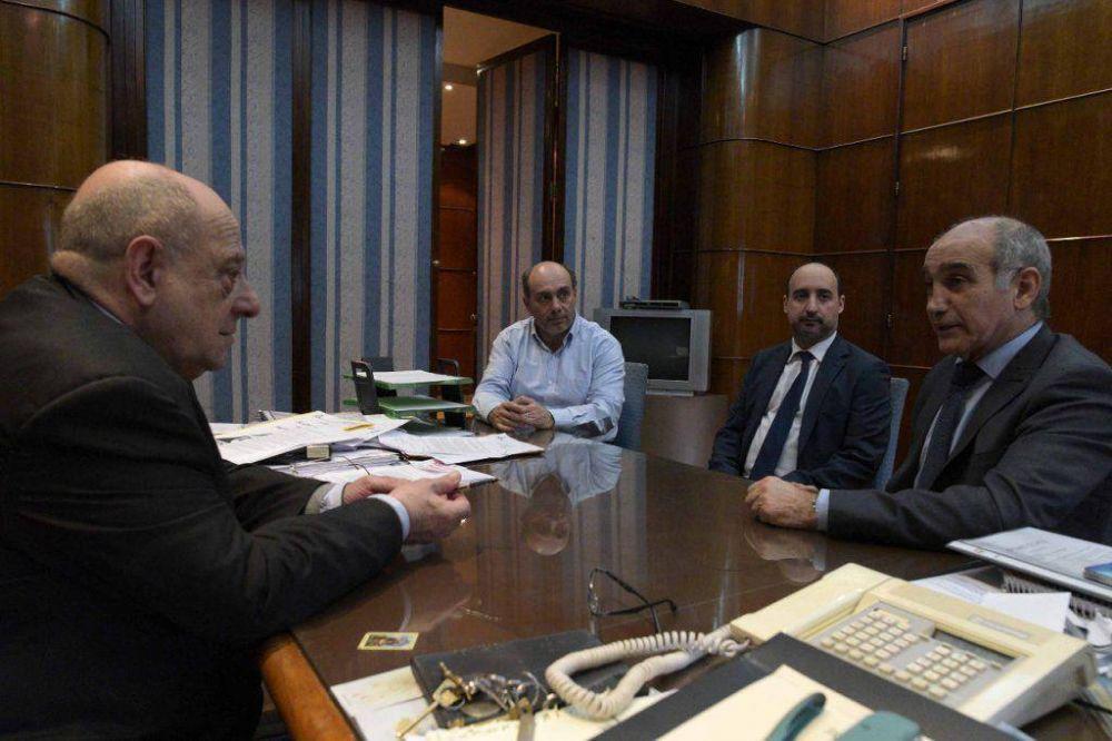 El vicegobernador visitó al intendente Arroyo