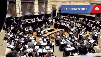 La representación en diputados: el objetivo oficialista es romper el esquema de tercios