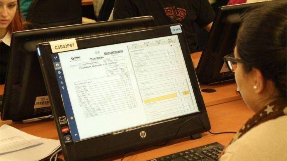 PASO 2017: cómo será el recuento provisorio que promete menos de 1% de error