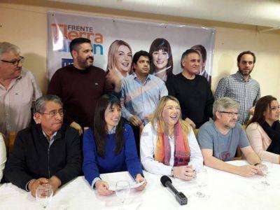 """Bertone asumió el resultado electoral y planteó """"redoblar el esfuerzo hacia octubre"""""""