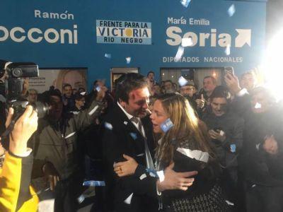 Amplio triunfo de María Emilia Soria