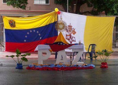 Mons. Lozano pidió mirar a Venezuela y rezar para que haya diálogo y paz