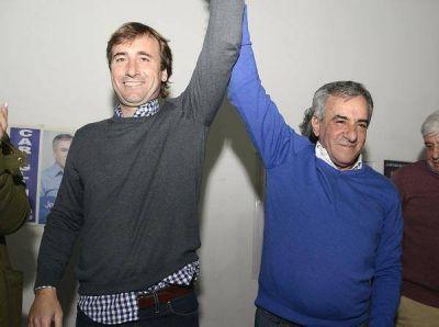 Cariglino celebró su triunfo en la interna de Cambiemos en Malvinas Argentinas