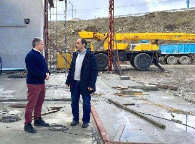 """Vázquez: """"Seguimos realizando obras para vincular distintos barrios al sistema cloacal"""""""