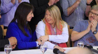 """La gobernadora Rosana Bertone dijo que """"ahora comienza la campaña"""""""