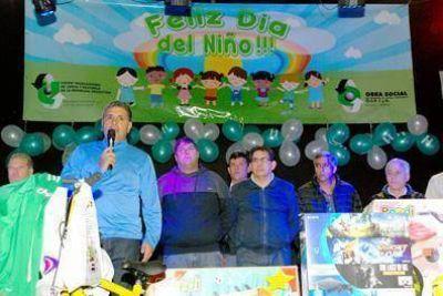 Carga y Descarga celebró el Día del Niño