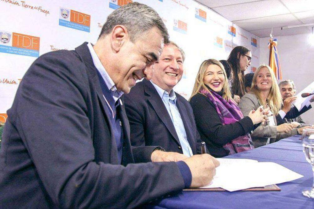 El Laboratorio Del Fin Del Mundo y Bristol Myers firmaron acuerdo