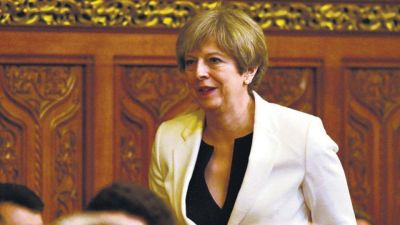 Presión británica por Malvinas