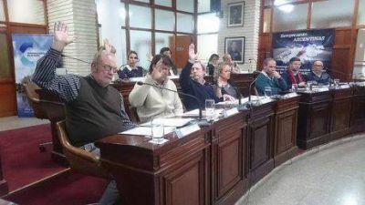 En sesión del Concejo sin demasiadas ríspideces hubo voces muy críticas hacia Hidráulica de Buenos Aires