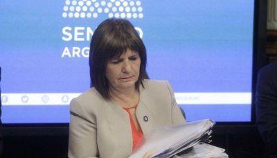 """Caso Maldonado: Patricia Bullrich expuso ante el Senado y pidió """"no estigmatizar a la Gendarmería"""""""