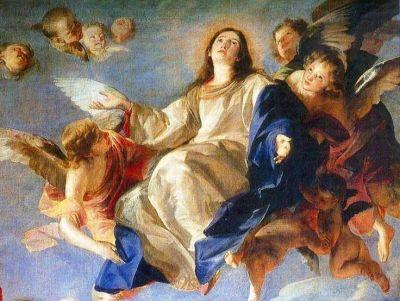 Honras a la Virgen en la solemnidad de la Asunción de María Santísima