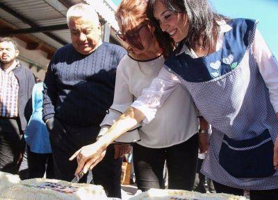 Intendente de San Pedro presentó las obras realizadas en el Jardín que lleva el nombre de su madre