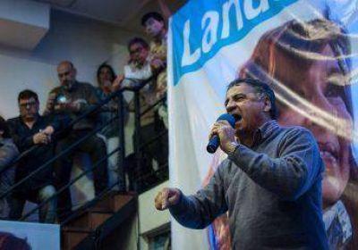 """El peronismo considera """"histórica"""" la campaña de Depetri"""
