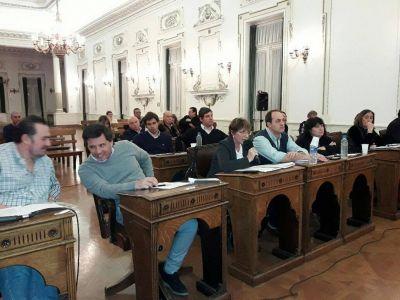 Breve y conciso, el Concejo Deliberante aprobó el único proyecto en estudio