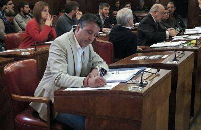 """Convenio para el arreglo de calles: """"Nuestro voto positivo es para que Mar del Plata tenga mejoras"""""""